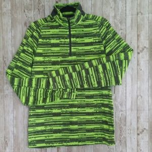 Xersion Lightweight Lime Black Athletic Jacket
